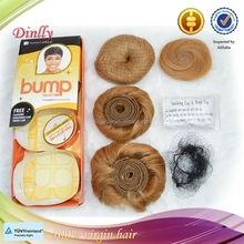 High quality and wholesale price remy human sensationnel hair bump hair collected 27 pieces per pack