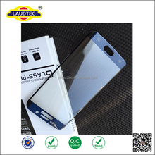 2016 Electroplating Mirror Effect Tempered Glass Screen Protector for Samsung Galaxy S7 edge Mobile Phone ----- Laudtec