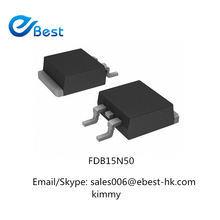 Electronic Parts Transistor Mosfet FDB15N50