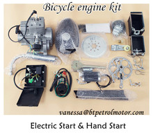 Hand Start/gasoline Engin zeda BT 80cc egine Kit 50cc 66cc/single clinder