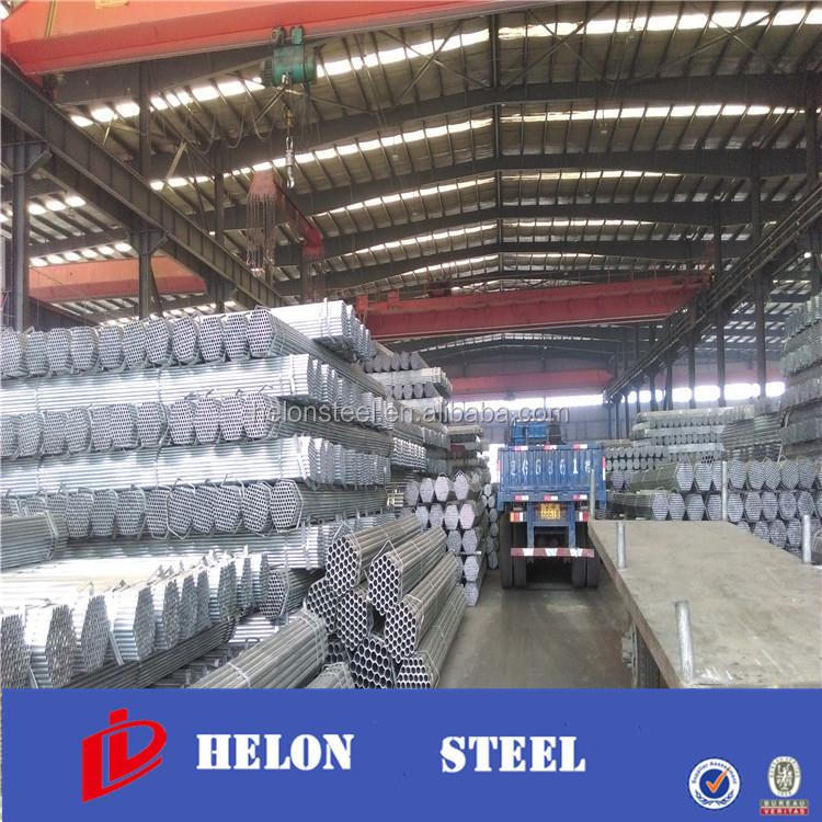 steel pipe production line ! prices 3-inch galvanized pipe bs1387 hot dip galvanizing pipe for water