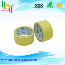 China manufacturer yellow masking tape high temperature teflon tape