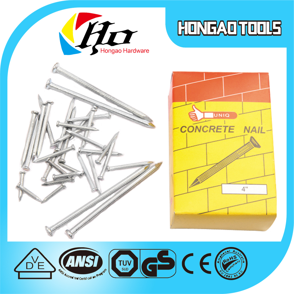 Stainless Steel Twist Concrete Nails Polished Concrete Nail Factory Direct