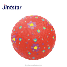 Jintstar custom kids toy expandable ball soft rubber playground ball