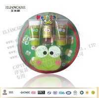 4PK natural fruit and floral scents keroppi bath gift set