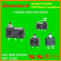 Types of auto micro switches, zing ear waterproof sliding windows auto for Sliding Door Locks