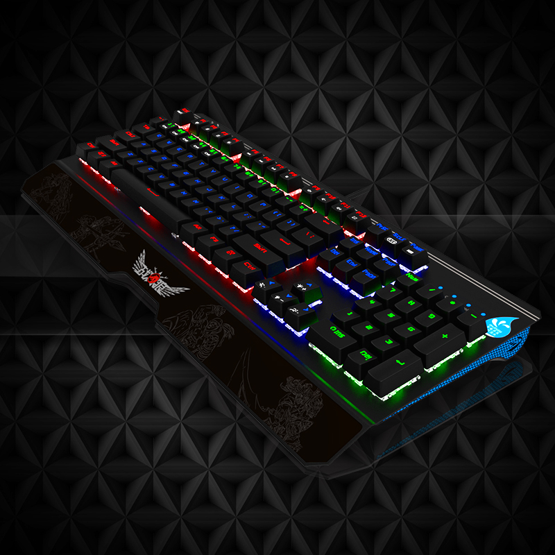 Manufacturer modern USB multimedia mechanical keyboard gaming