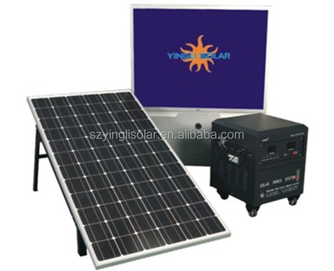 Off grid solar system NEW design high efficiency 1kw 2kw 3kw 5kw 10kw solar power system with panel, bracke, battery and cables