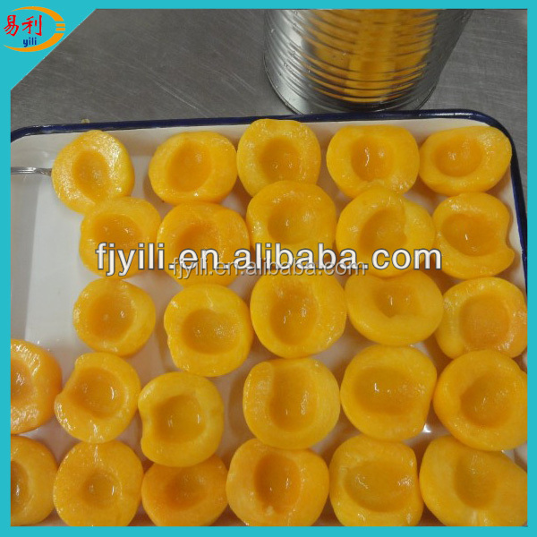 Cheap 425g canned yellow peach with high quality