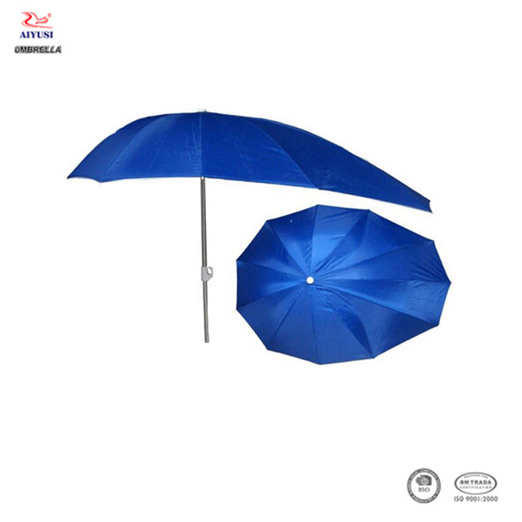 Windproof motorcycle umbrella, straight manual open outdoor umbrella for motorcycle&bike