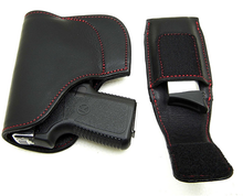 Custom made pocket Leather Gun Holster and Magazine Pouch for Kahr P380 LOD by Sripoom GH0002