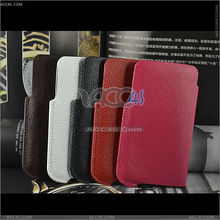 genuine leather flip case for samsung i9100 galaxy s2 P-SAMI9100CASE102