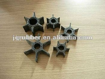 qingdao marine rubber impeller for 4hp 15hp 40hp