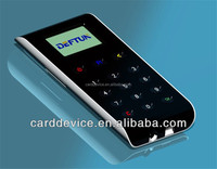 factory sell Bluetooth Magnetic/EMV Card Reader With Pinpad Keypad for Android/ios