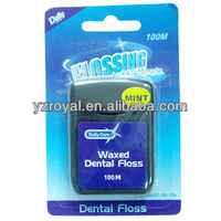 Dental floss/ Dupont nylon floss/ dental floss manufacture
