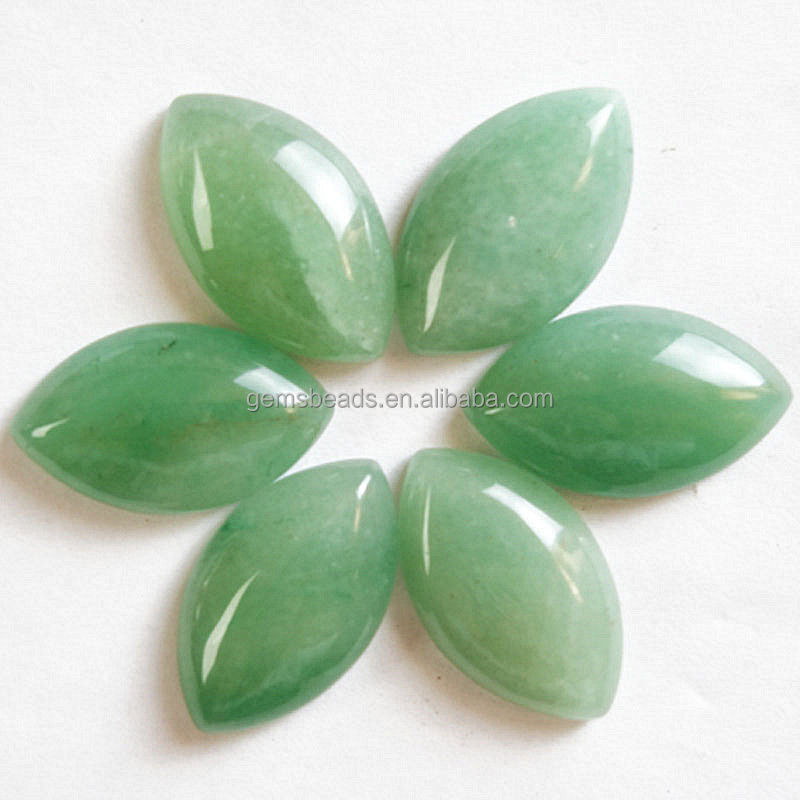 China factory wholesale natural precious gemstone marquoise cabochon