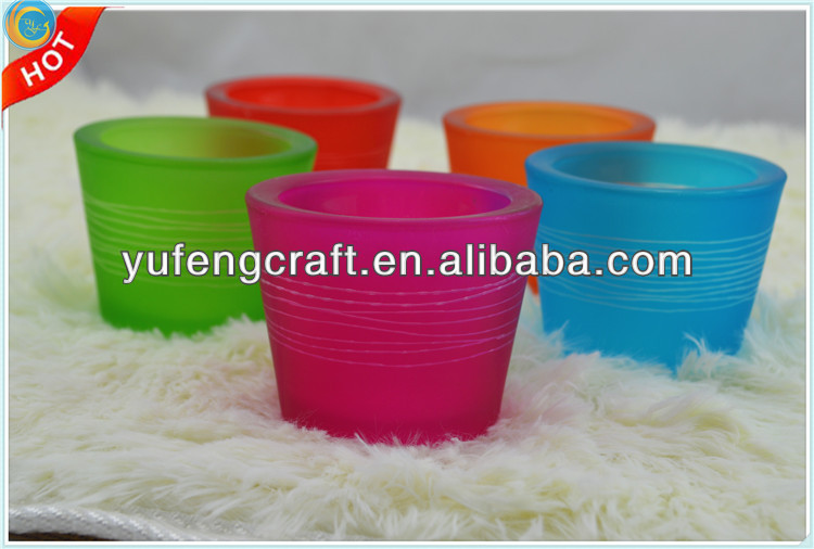 glass ware heat resistant for candles