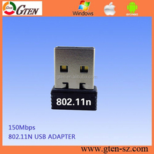 2015 hotsale mini 150 Mbps 2.4 GHz rtl8188cus 150 150mbps mini USB <span class=keywords><strong>WiFi</strong></span> adaptador inalámbrico de red LAN