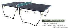 The best seller and popular sport table tennis set,black top ping pong table