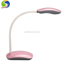 usb charging rechargeable gooseneck led battery desk table lamp