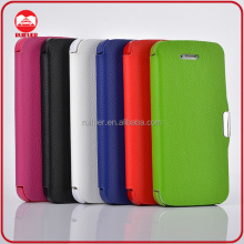 Manufacturer Wholesale Ultra Thin Slim Leather Flip Magnetic Cheap Mobile Phone Case, more than 100 models available