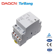 DAQCN 2018 China Wholesale LCH8-25 220V Din Rail Electrical Modular AC Contactors