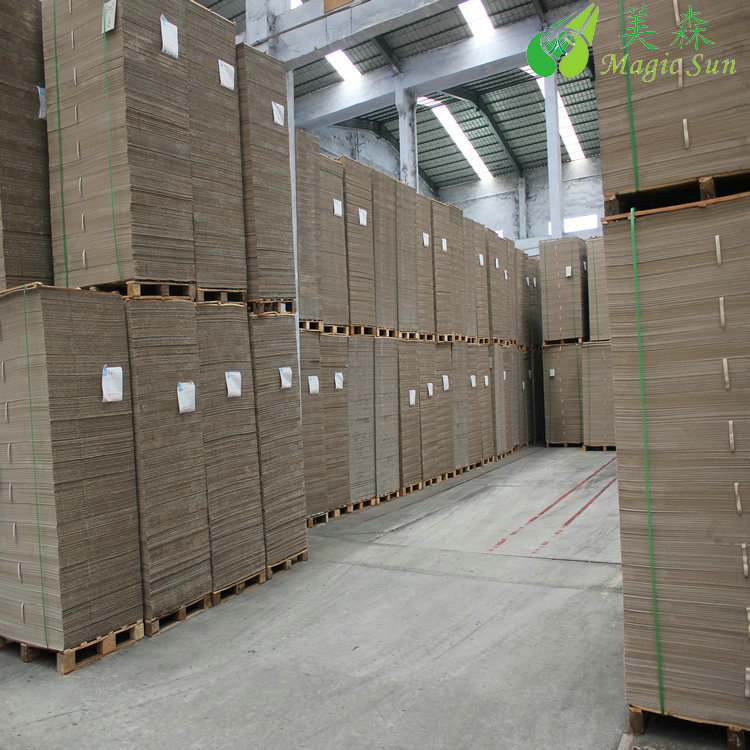 High quality recycled kappa grey board/grey chip board for rigid boxes