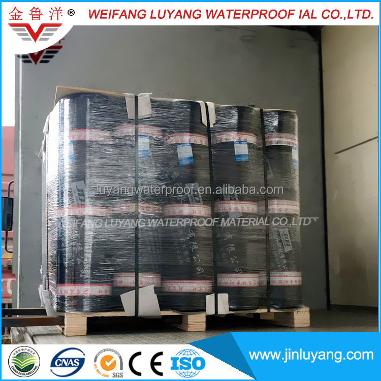 Self Adhesive Polymer Modified Bitumen Waterproof Non-reinforcement Membrane