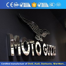 Custom Metal 3D Chrome Letters & Numbers Outdoor Advertising Signs
