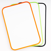 Plastic school white board decorations