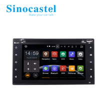 Sinocastel 6.2 inch double din android car gps navigation with gps for universal cars