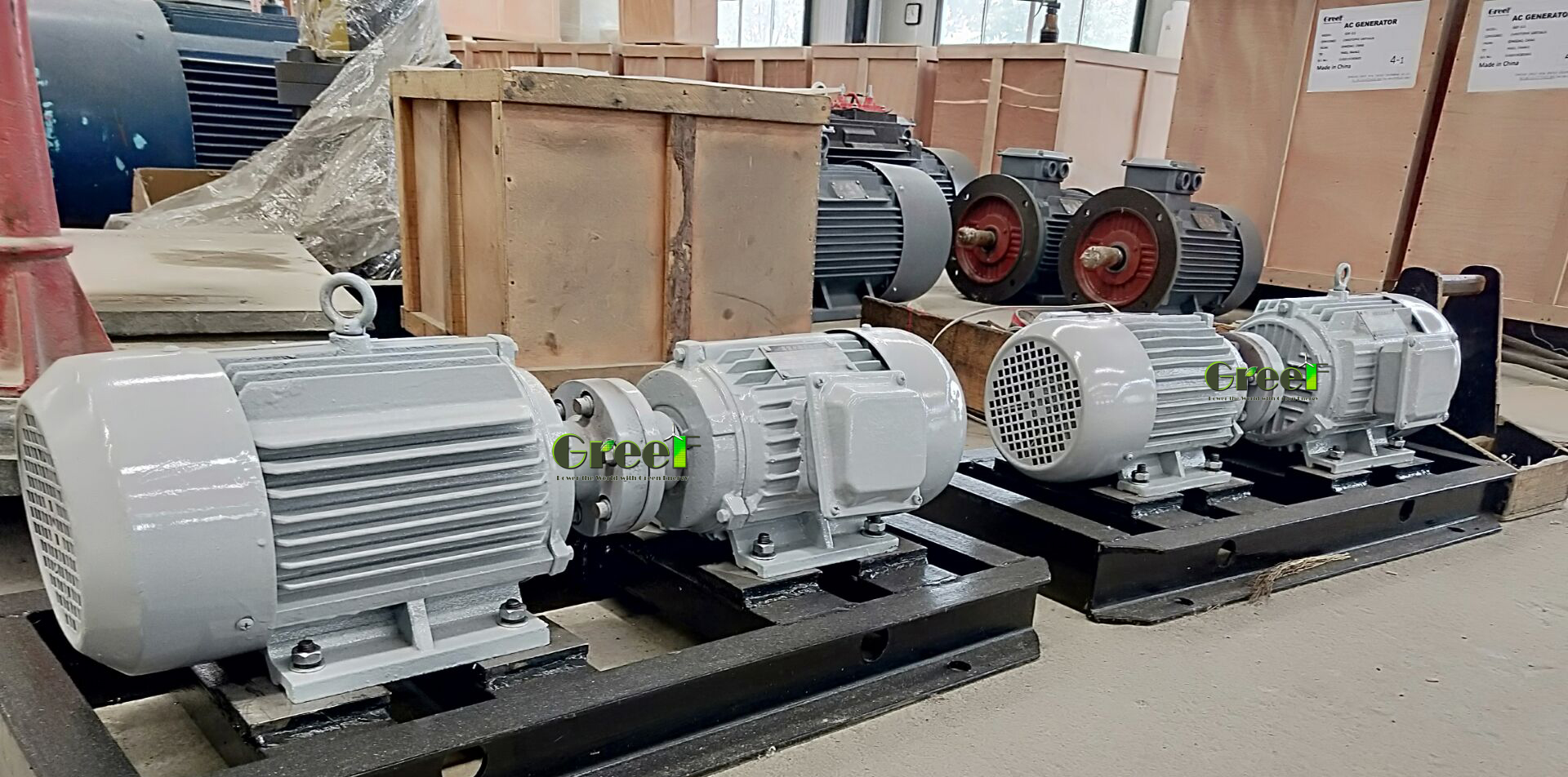 Permanent Magnet Generator/Alternator