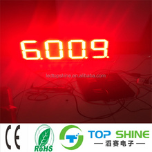 LED gas station price screen led digitial number sign for lighting numbers