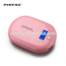Portable cute design colorful mini mobile charger power bank 10000mah