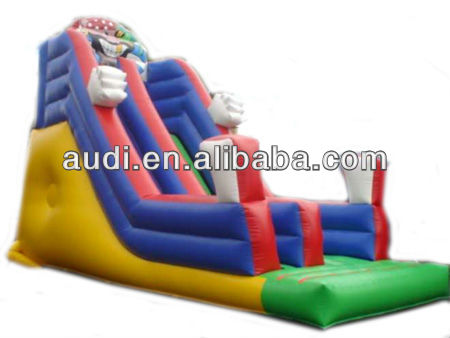 Pirate Theme Bouncy Slide Inflatable Water Slide