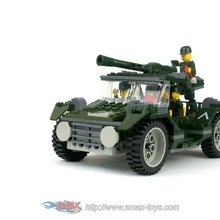 bd-14884002 building block-army cavalry jeep