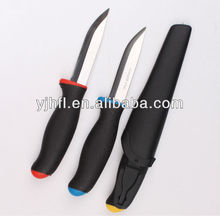 Assorted Kitchen global knives with plastic handles