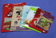 Candy packaging bags aluminized foil packing bags with zipper top
