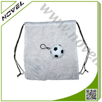 Custom Fabric Foldable Drawstring Bag
