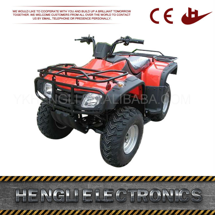 250Cc Gas Quad Bike New 2016 Kick Start 110Cc 125Cc Automatic Atv For Adults