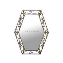 MYEE vanity wrought iron table mirror dressing room mirror