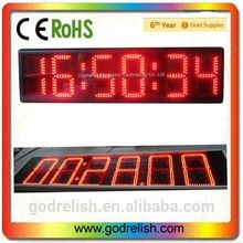 Multifunctional top level new gym digital countdown timer with high quality