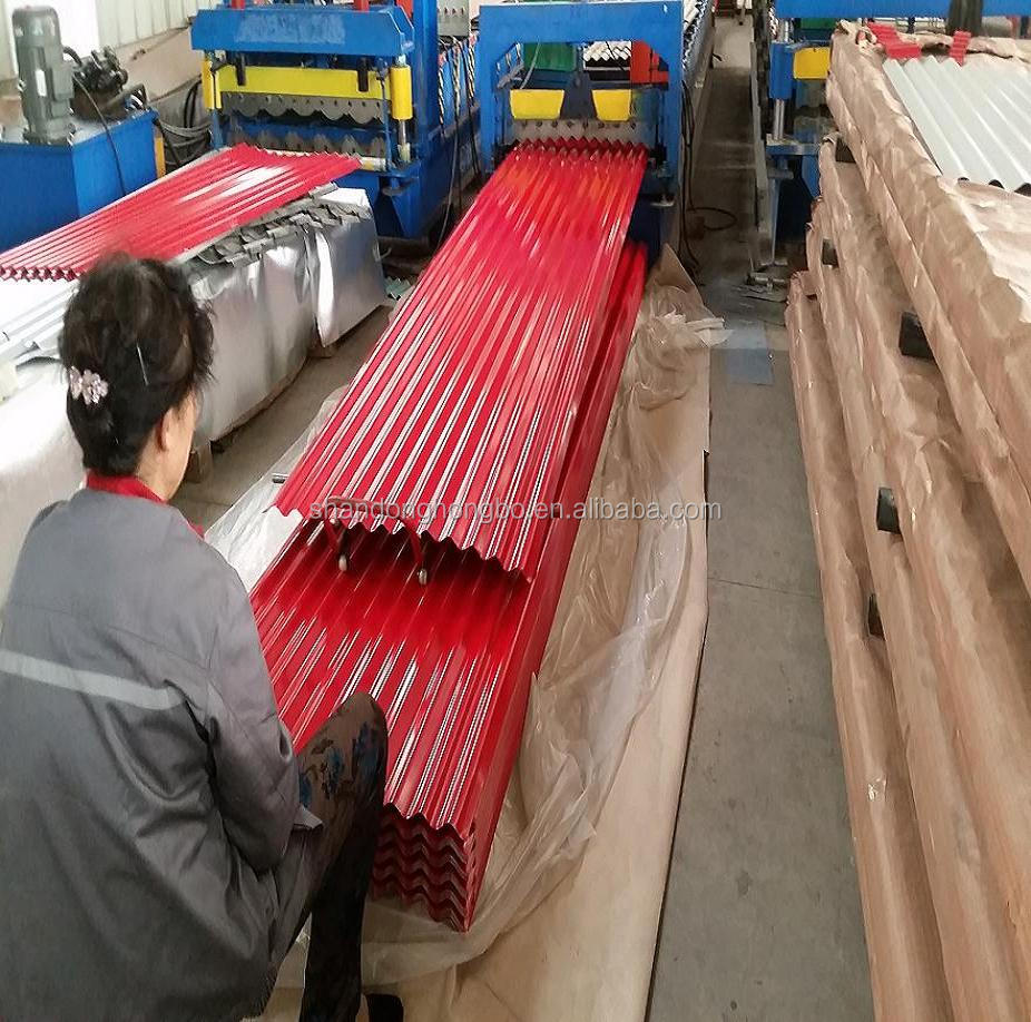 Corrugated roofing <strong>sheets</strong> for Kenya / Ghana / Guinea/ Tanzania