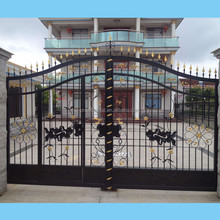 R0143 House Front decoration wrought iron Main Gate Design