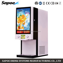 Sapoe pump tube statistics commercial post mix hot and cold drinks fruit juice dispenser