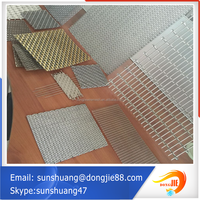 Alibaba website com resist compression stainless steel curtain net/wall network