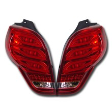 NightEye Car Styling for Chevrolet Spark Tail Lights 2010-2014 New Spark LED Tail Light Rear Lamp DRL+Brake+Park+Signal