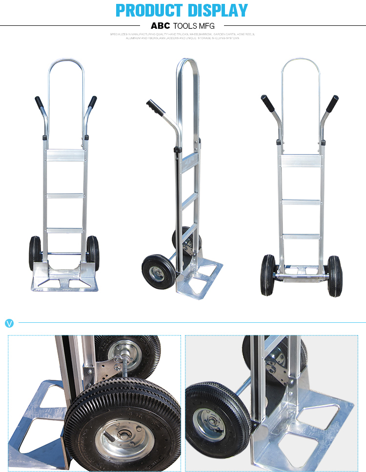 China construction heavy duty climbing hand trolley