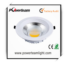 20w COB LED down light with good heat dissipation