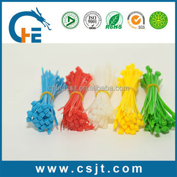 UL CE certified colourful Cable Tie